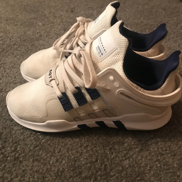 premium selection 9ad0c e67ae adidas Other - Boys adidas EQT beige white  navy blue sz 3